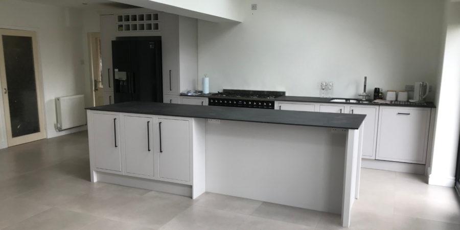 open-plan kitchen, Coleshill